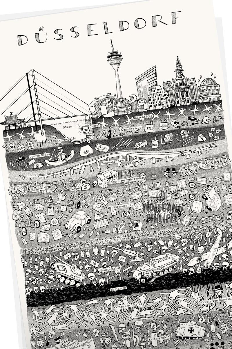 Stadtbild Düsseldorf