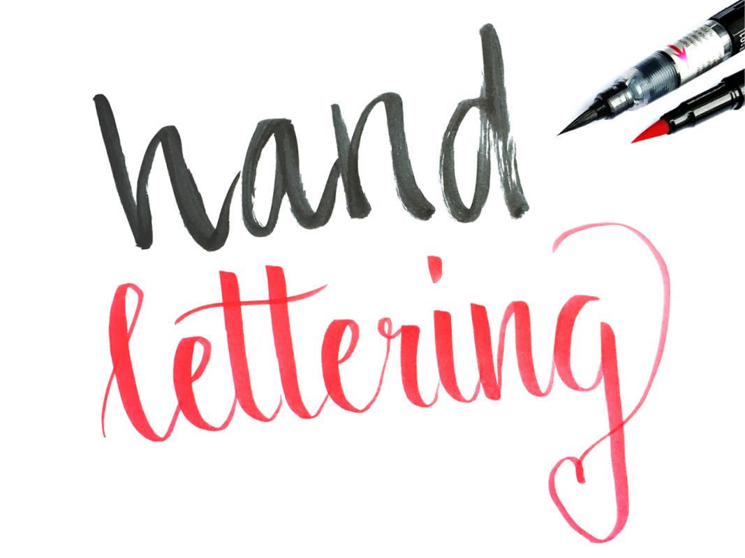 Handlettering Brushlettering Schrift Brushpens Handschrift