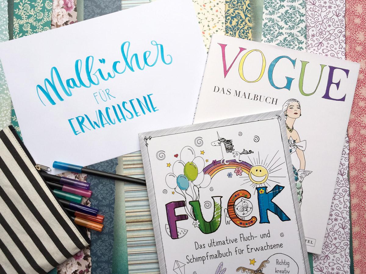 Malbuch, Cover, Titel