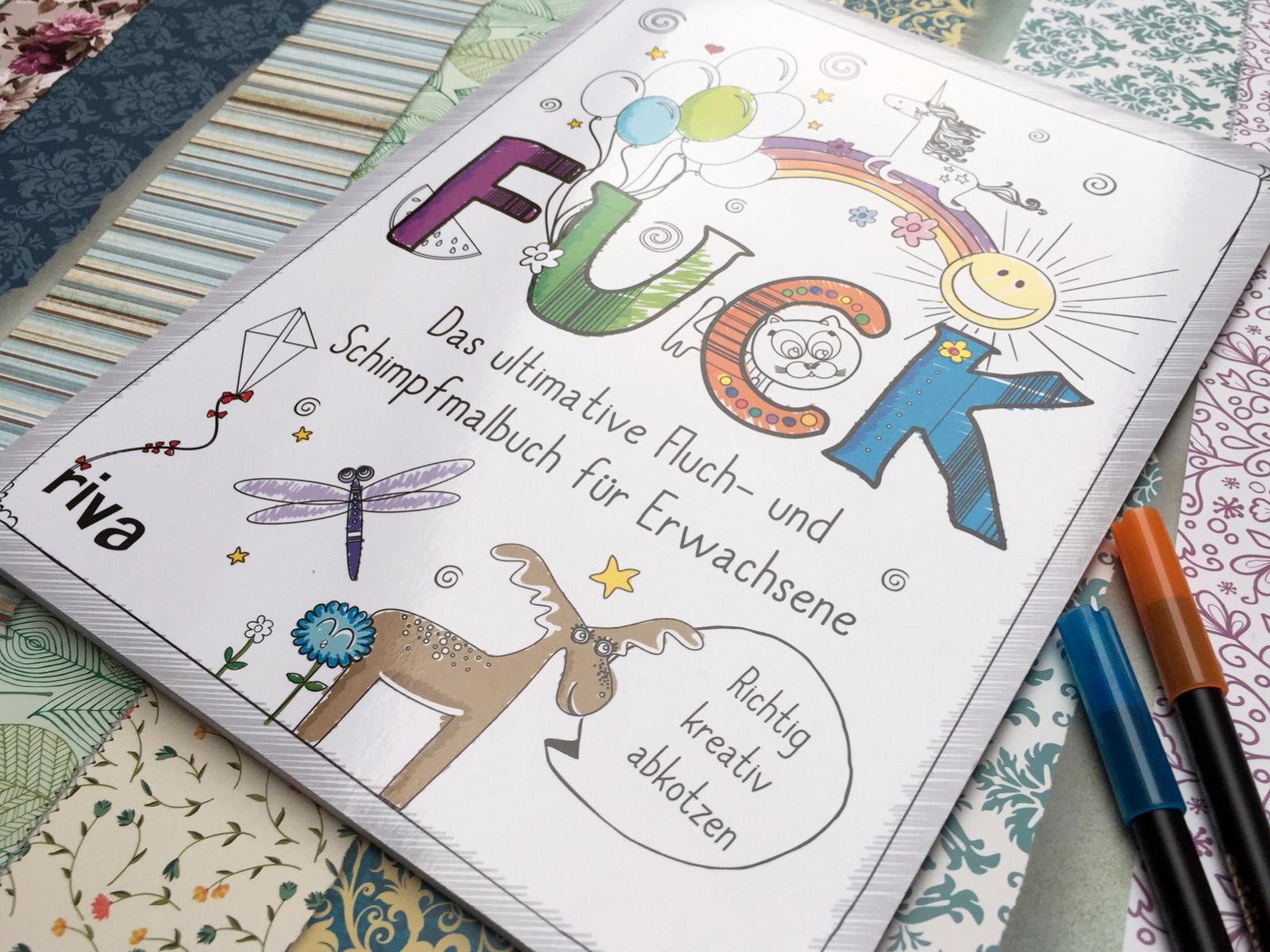 Schimpfmalbuch-FUCK-Titel