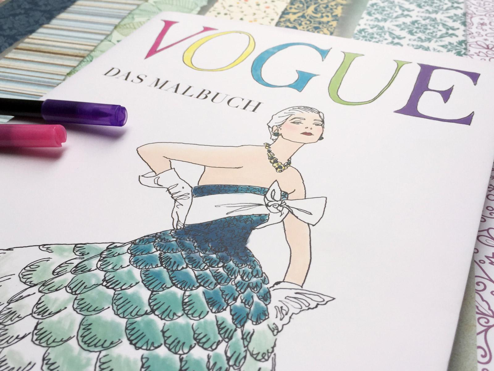 VOGUE-Malbuch-Titel