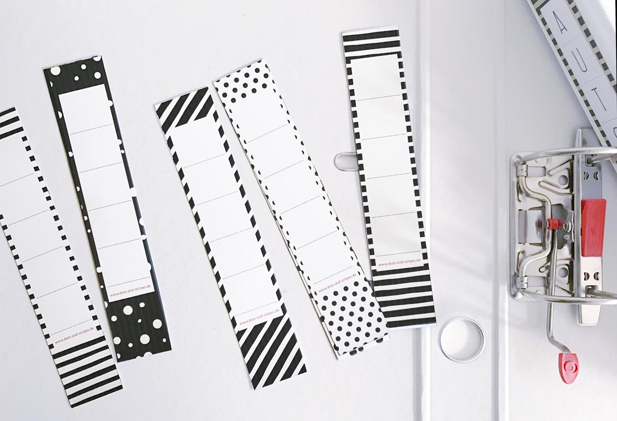 jetzt neu vorlage f r schmale ordnerr cken als freebie. Black Bedroom Furniture Sets. Home Design Ideas