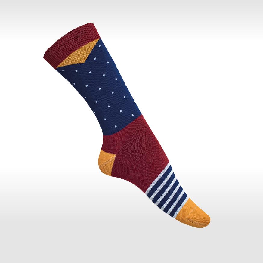 Bunte Socken Modisch 2