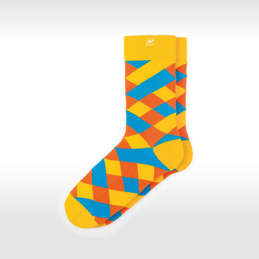 Bunte Socken Modisch 5