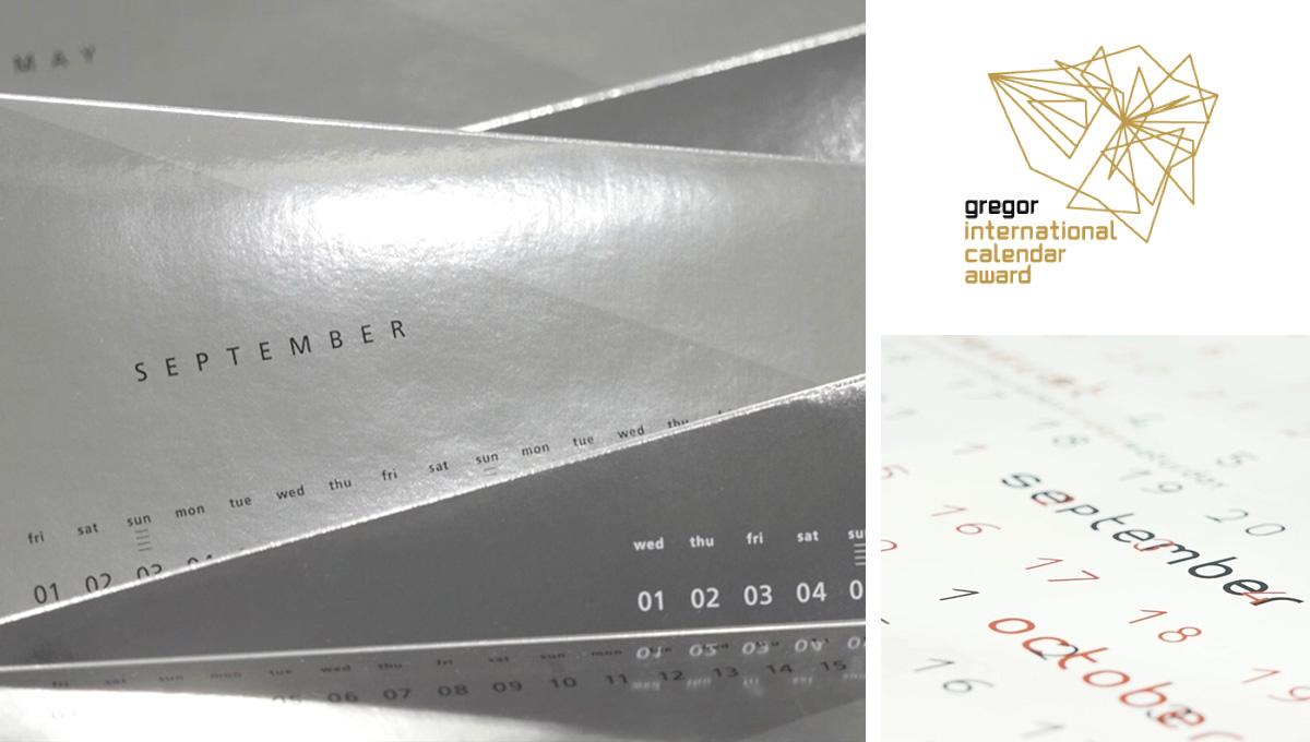 Kalender Werbekalender Imagkalender 2017 Gregor International Calendar Award