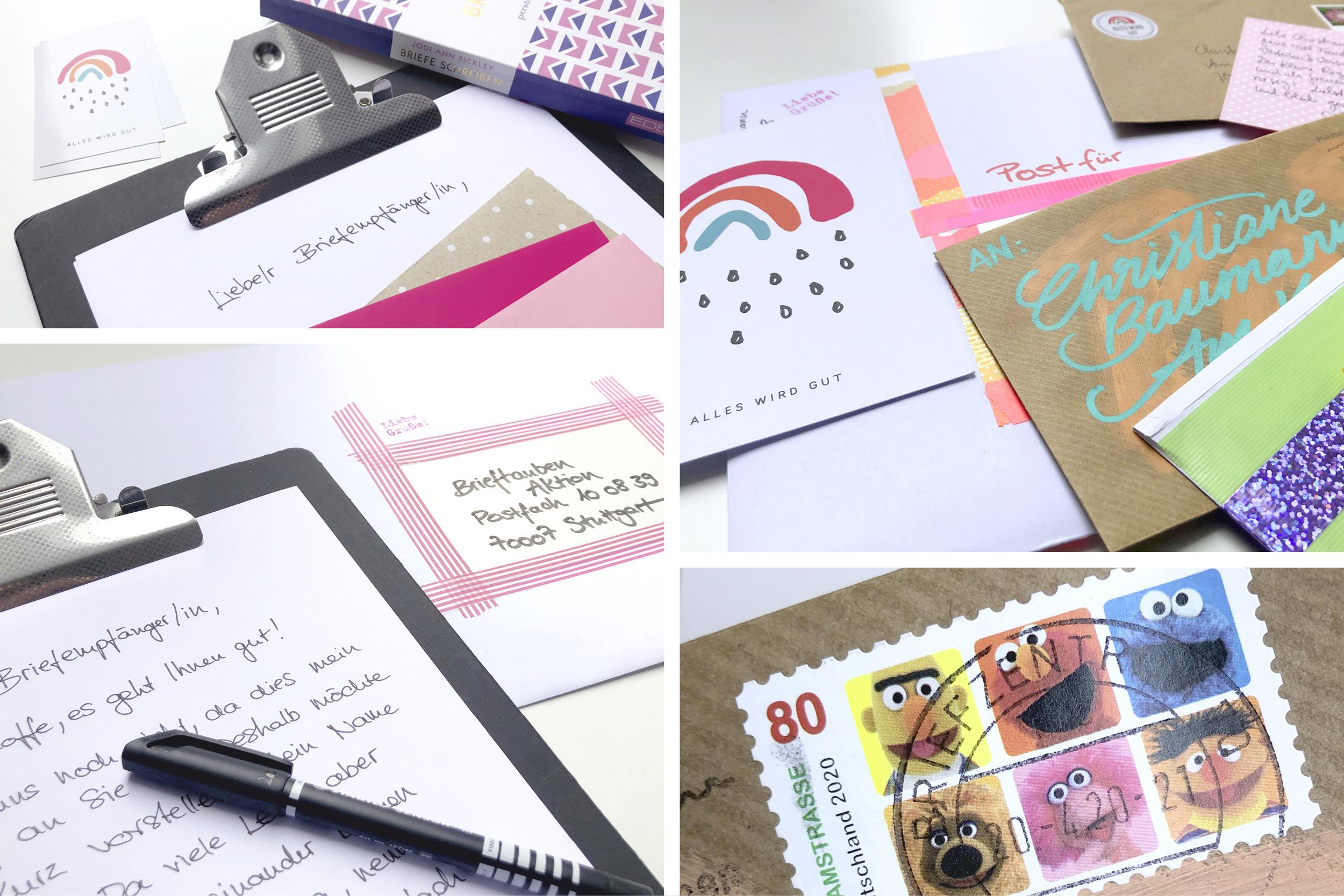 Briefe Schreiben Handschrift Post Brieftauben